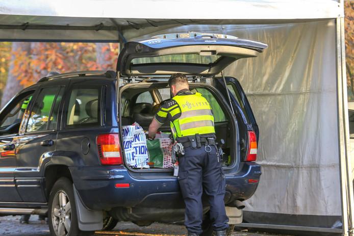 Politiecontrole Rijen