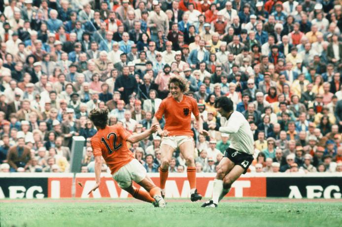 Arie Haan zegt zich weinig te kunnen herinneren van de verloren WK-finale van 1974.