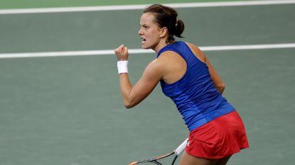 Tsjechië comfortabel aan de leiding in finale Fed Cup - Safarova stopt na Australian Open