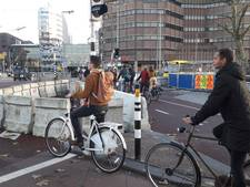 Steeds meer betonnen obstakels in verkeersjungle rondom Utrecht Centraal