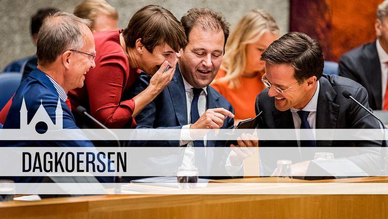 Algemene Politieke Beschouwingen 2016 Beeld ANP/de Volkskrant