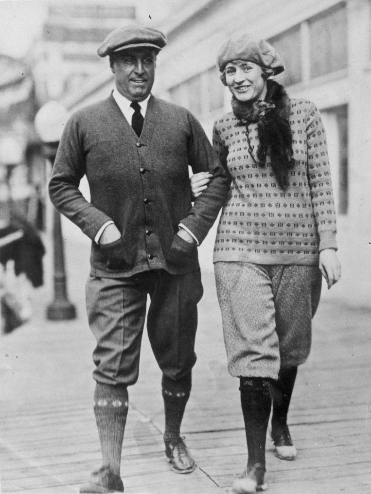 Mode uit de jaren twintig van de vorige eeuw. Beeld Getty