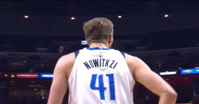 De onlangs gestopte basketballer, Dirk Nowitzki.
