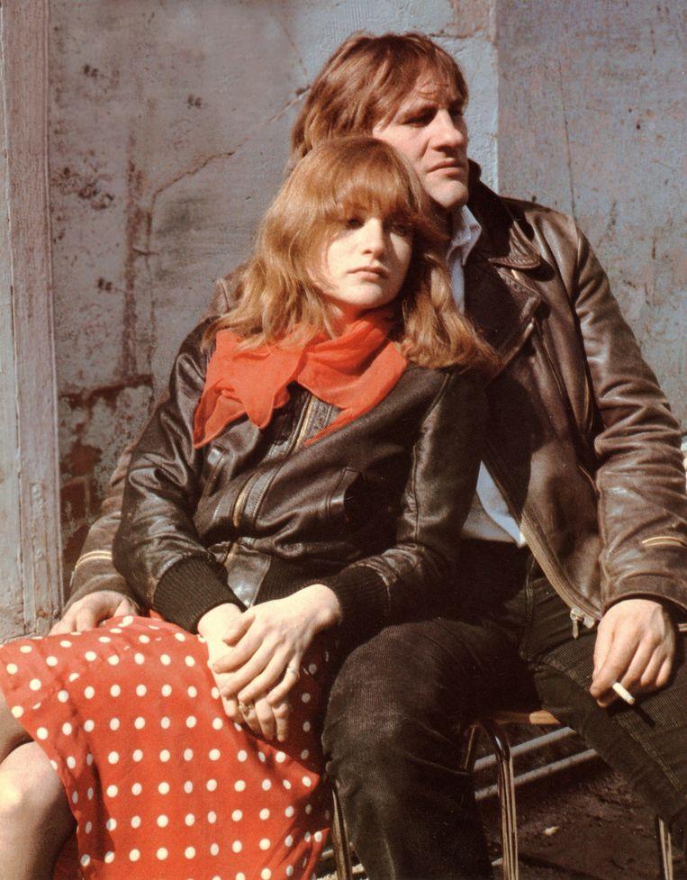 Huppert en Depardieu in Loulou (1980). Beeld Etienne George/Rue des Archives