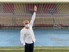 """Scène cocasse lors de Shkëndija-Tottenham: """"Je pensais avoir grandi, mais le but était 5 cm trop bas"""""""