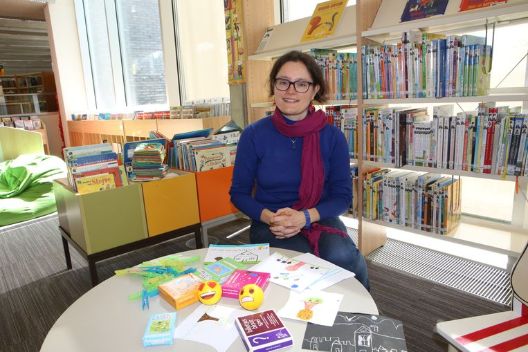 Kinderbegeleidster Elke Beckers geeft verschillende cursussen voor kinderen en volwassenen.