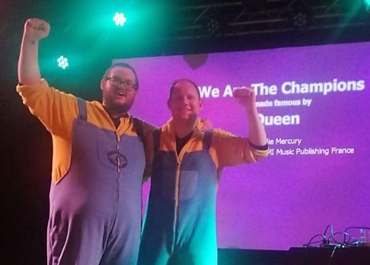 Winnaars Bryan Pyncket en Def Fossez