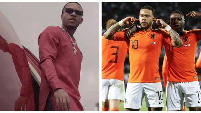 Niet alleen topvoetballer, maar nu ook rapper: scoort Nederlander Memphis Depay een hit?