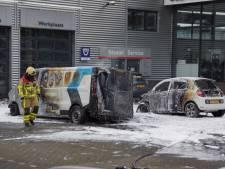 Auto's door brand verwoest in Doetinchem