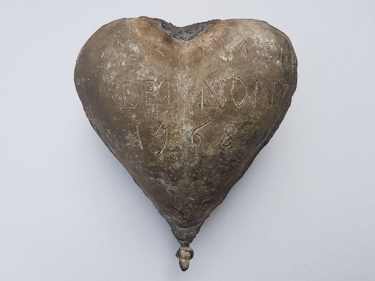 Doos waarin het hart van Egmont werd opgeborgen, 1568 Beeld Rijksmuseum