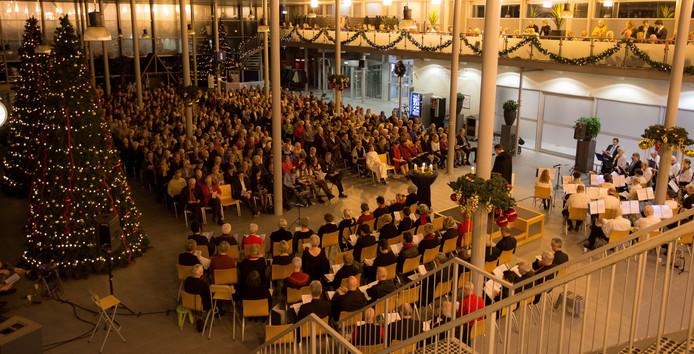 Kerstmis 2015 met omwonende vliegbasis Eindhoven.