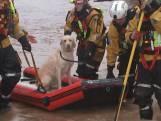Grote overstromingen in Wales door storm Dennis