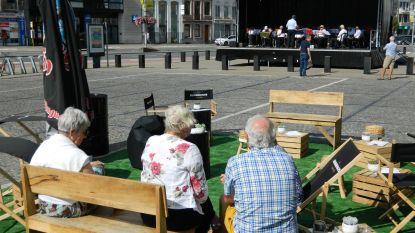 Volle terrassen, maar markt blijft leeg