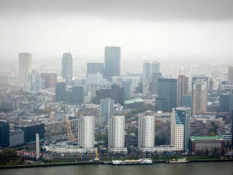 Zo hoog kunnen de Rotterdamse gebouwen over tien jaar worden