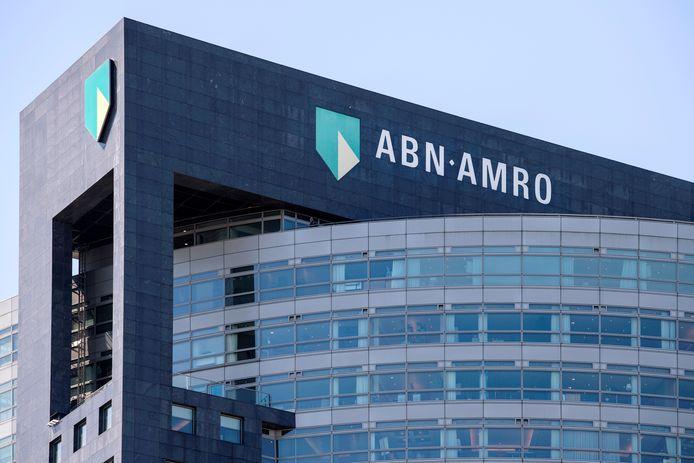 Het hoofdkantoor van ABN AMRO in Amsterdam