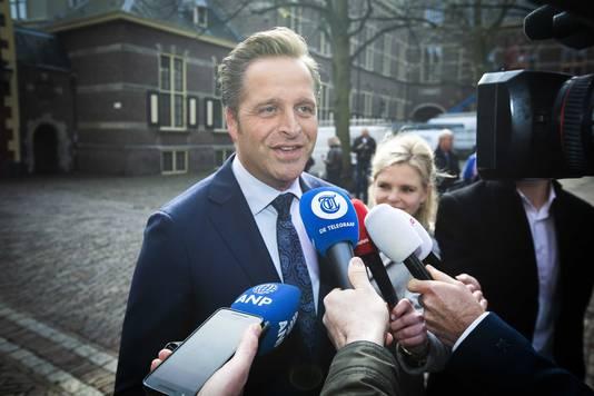 Hugo de Jonge (minister van Volksgezondheid, Welzijn en Sport).