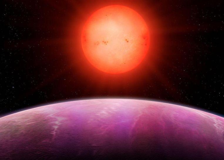 """De NGTS-1b is """"monsterlijk groot"""""""