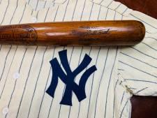 Honkbalknuppel Babe Ruth levert miljoen dollar op bij veiling