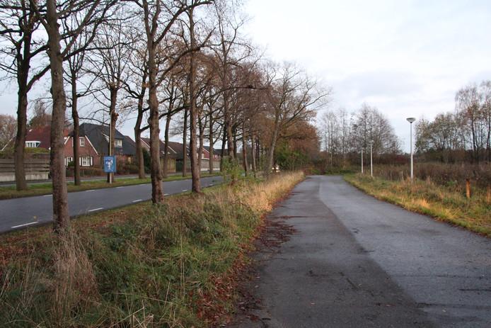 De locatie aan de Rekkenseweg, tot nu toe in beeld voor eventuele tijdelijke woningen.