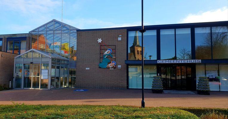 Het gemeentehuis van Vosselaar