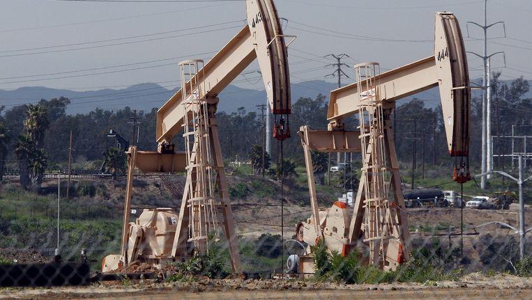 Een olieveld bij Los Angeles.