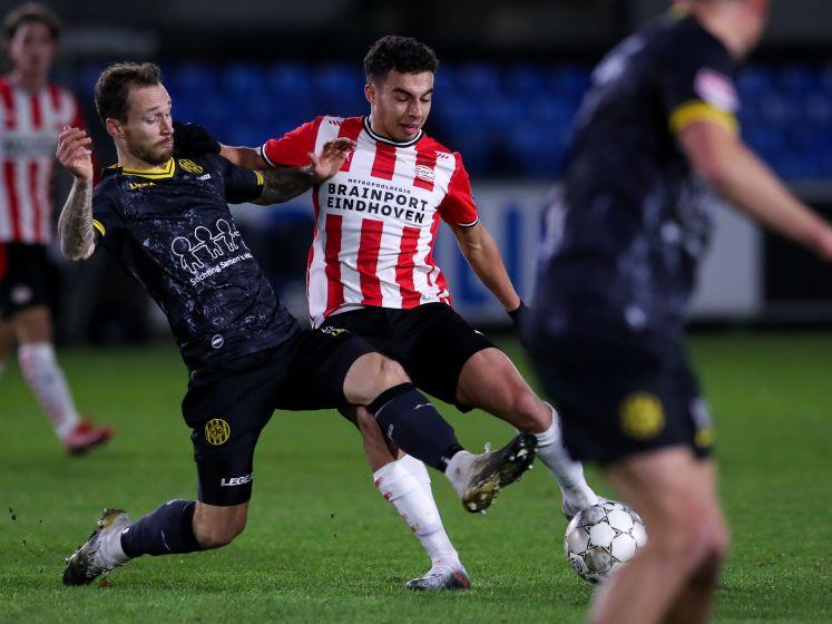 Samenvatting | Jong PSV pakt een knap punt tegen Roda JC