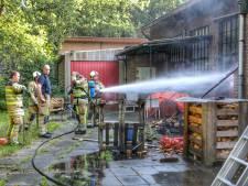 Brand op terrein van Altrecht snel onder controle