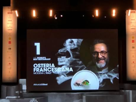 Osteria Francesecana mag zich beste restaurant van de wereld noemen