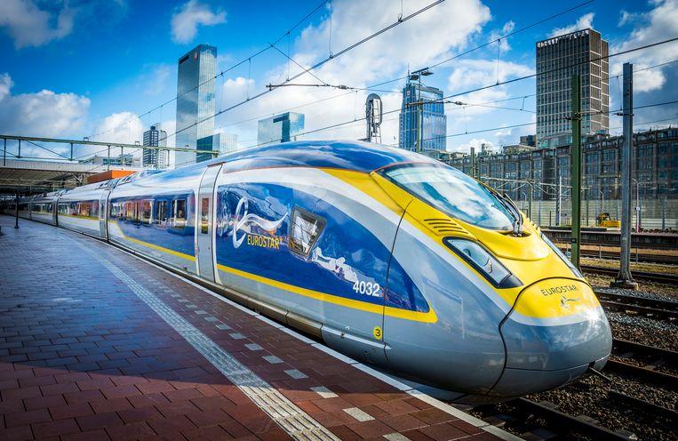 De Eurostar verbindt Amsterdam en Londen.  Beeld ANP