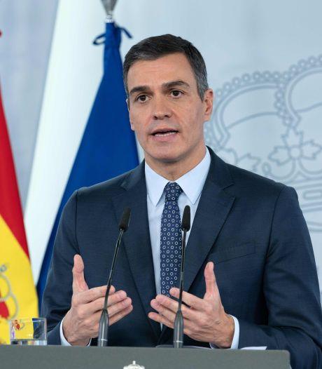 L'Espagne proclame l'état d'urgence sanitaire jusque mai et un couvre-feu
