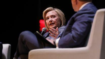 """Clinton: """"Assange moet zich in de VS verantwoorden voor Wikileaks"""""""