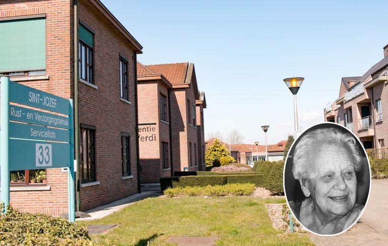 Woonzorgcentrum Sint-Jozef, inzet: Lisette Merckx (88).