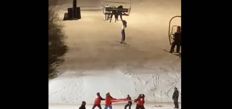Une skieuse de 14 ans sauvée d'une chute de télésiège