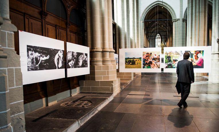 De Nieuwe Kerk staat elk jaar vol bijzondere foto's Beeld anp