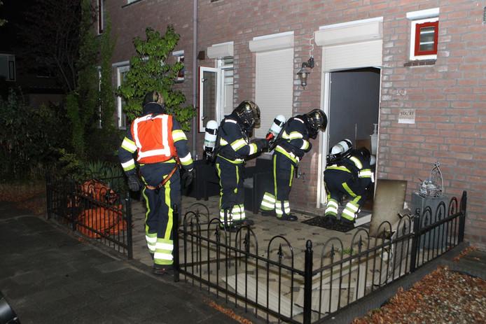 Een woningbrand in Den Bosch veroorzaakte vrijdagavond een stroomstoring.