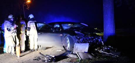 Weggelopen Porsche-bestuurder na crash Den Ham aangetroffen in ziekenhuis