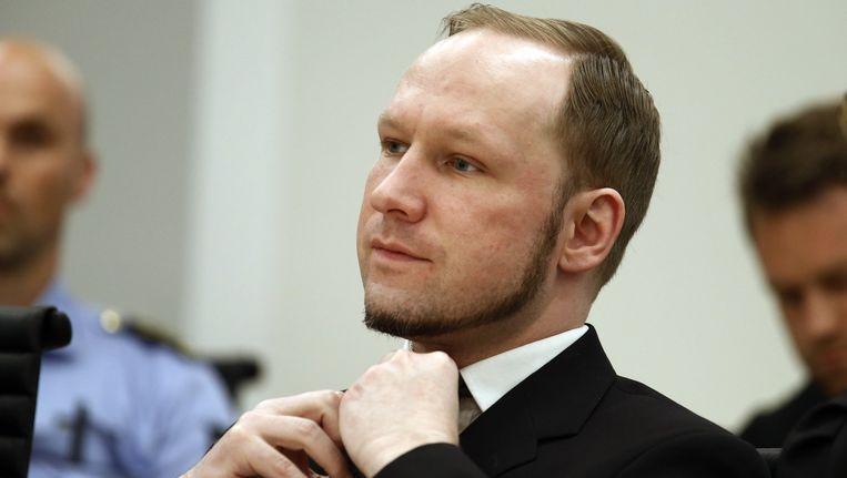 Anders Breivik. Beeld afp