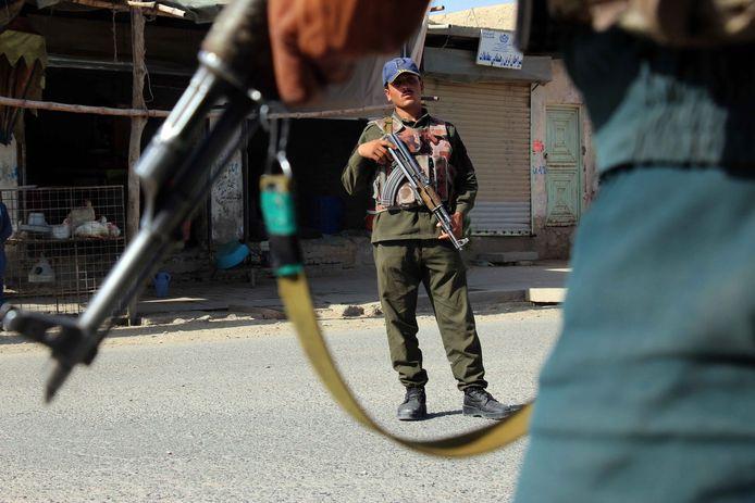 Afghaanse veiligheidstroepen