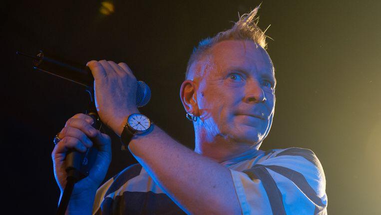 John 'Johnny Rotten' Lydon.