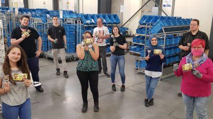 """Lokerse chocoladeproducent Belfine schenkt 77.500 chocolade lekkernijen aan bpost en zorgpersoneel: """"Positieve energie voor onze helden van hier"""""""