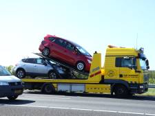 Botsing op A58; file richting kust opgelost