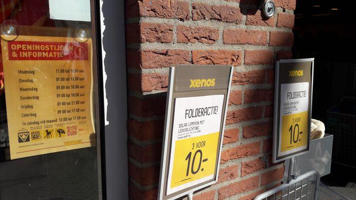 Bij Xenos in Harderwijk wisten ze het al, elke eerste zondag van de maand koopzondag.