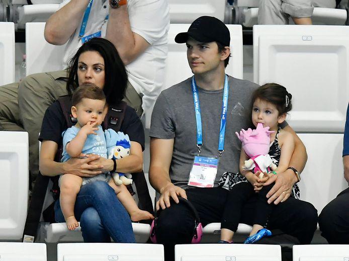 Les Kutcher-Kunis ont choisi la discrétion de la Hidden Valley pour vivre avec leurs deux enfants