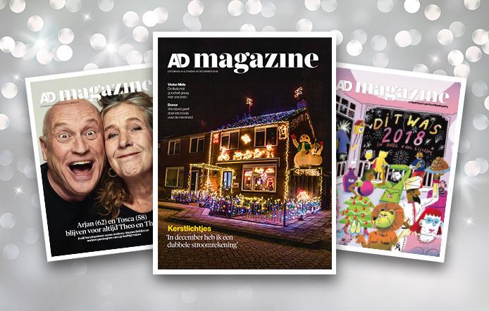 Kerstnummers AD Magazine