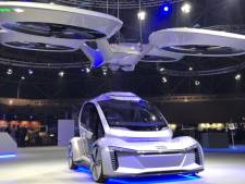 Audi en Airbus demonstreren vliegende taxi in Amsterdam