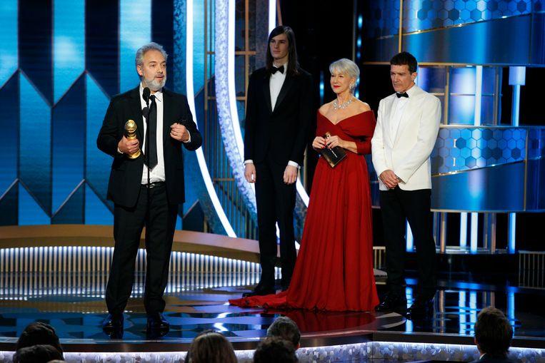 Sam Mendes wint ook de award voor 'Beste Film'.