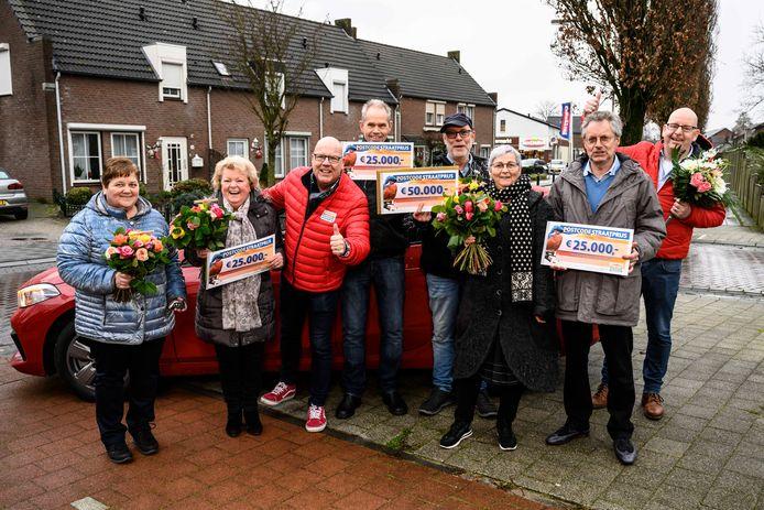 Winnaars van de PostcodeStraatprijs in Liessel.