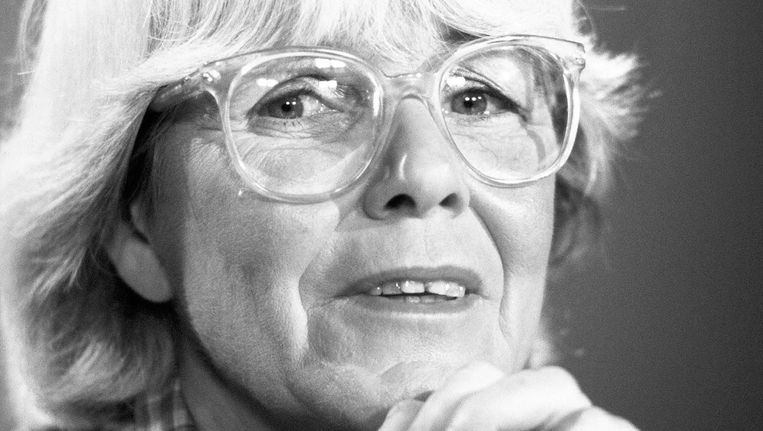 Hedda van Gennep in 1983. Beeld anp
