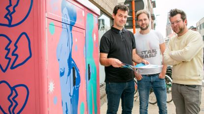 """Stadscentrum is kleurrijk openluchtmuseum"": 'street art map' loodst je langs murals en graffitiwerken"