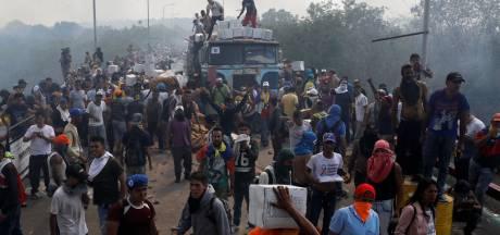 Spanning aan grens Venezuela stijgt, hulpkonvooien gedwarsboomd